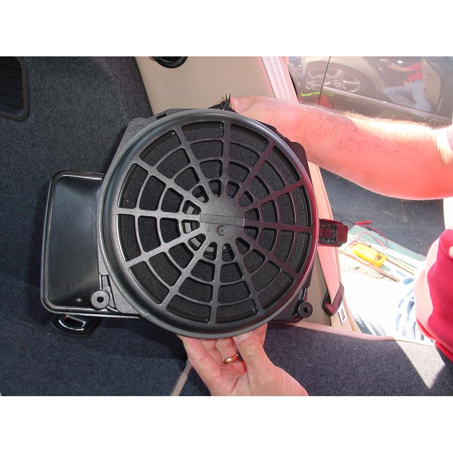 2008 Audi S4 Rear deck center speaker