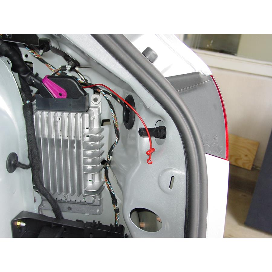 2006 Audi A3 Factory amplifier