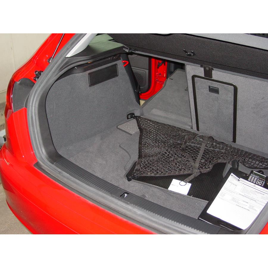 2006 Audi A3 Far-rear side speaker location