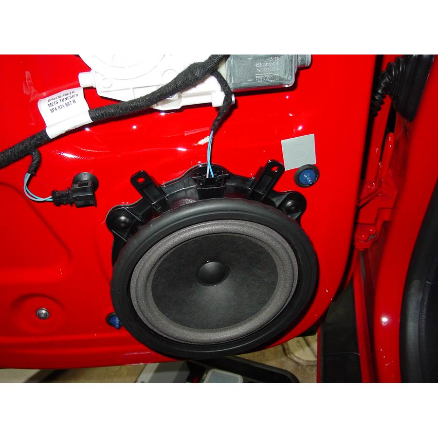 2006 Audi A3 Rear door woofer