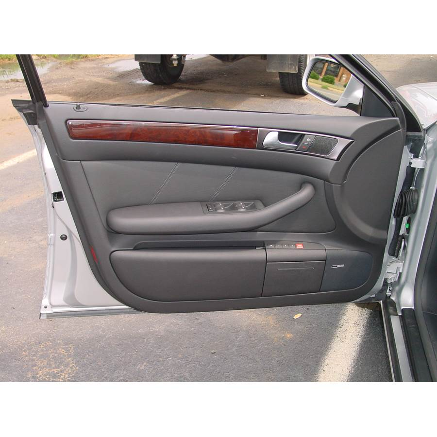 2002 Audi Allroad Quattro Front door speaker location
