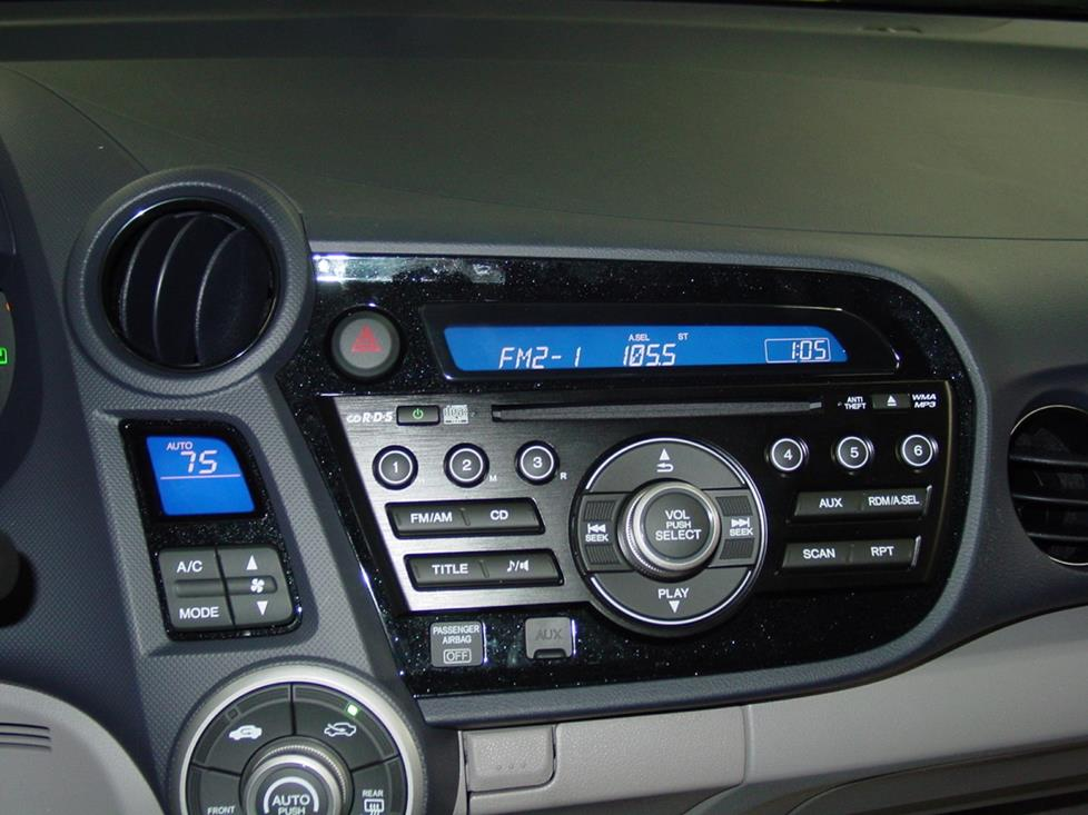 honda insight base radio