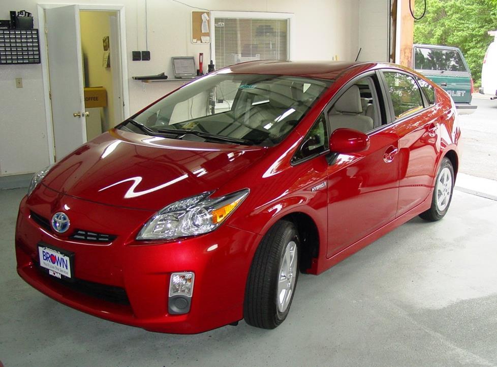 2010-2015 Toyota Prius Car Audio Profile