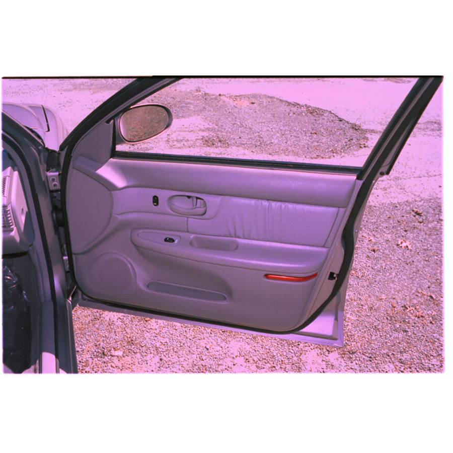 2002 Buick Century Front door speaker location