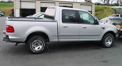 2001-2003 Ford F-150 Standard Cab, SuperCab, and SuperCrew
