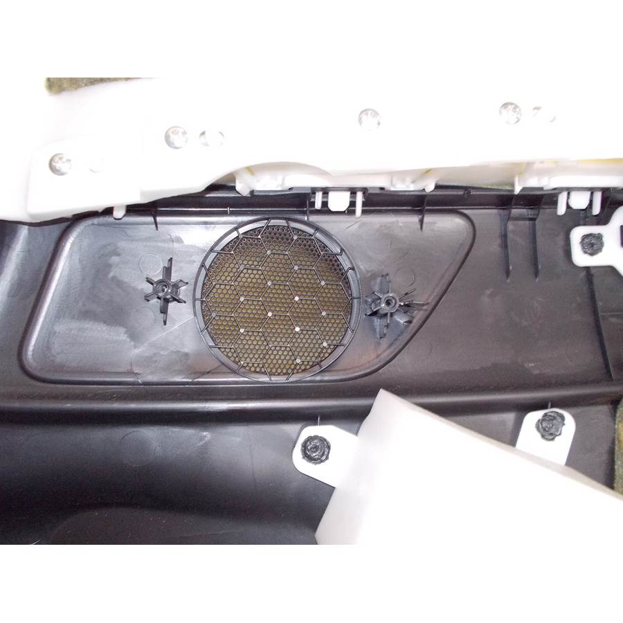 2011 Infiniti G Rear side panel speaker removed