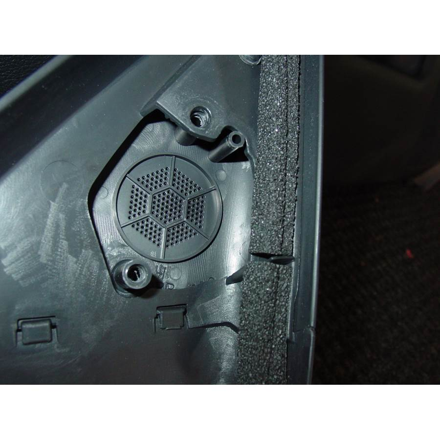 2006 Infiniti M45 Front door tweeter removed