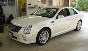 2008 Cadillac STS Exterior