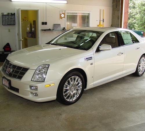 2011 Cadillac STS Exterior