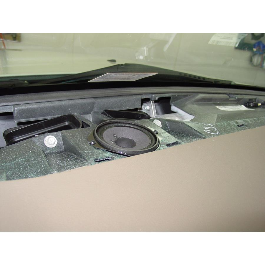 2011 Cadillac STS Center dash speaker