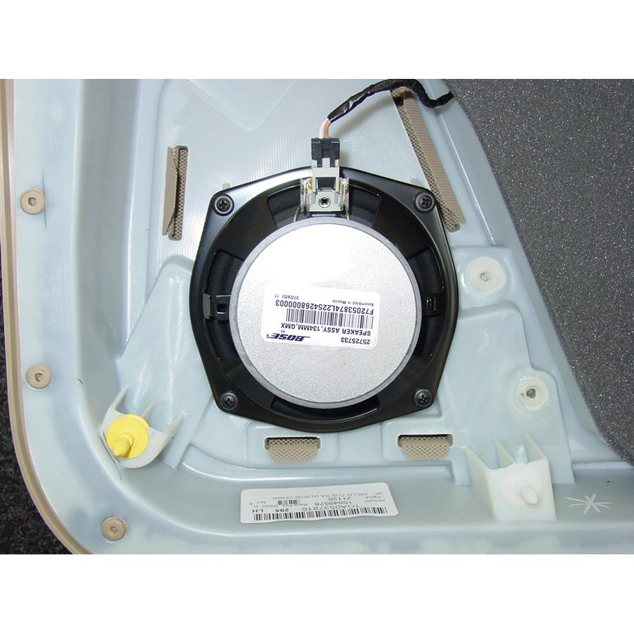 2011 Cadillac STS Rear door speaker