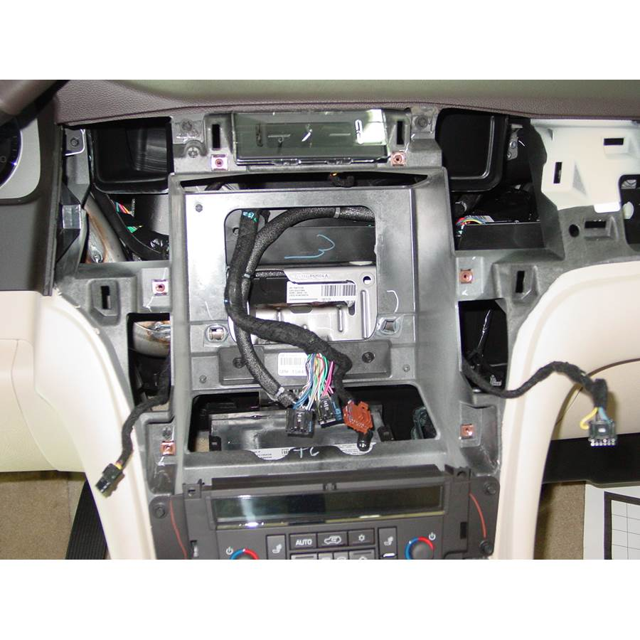 2007 Cadillac Escalade ESV Factory radio removed