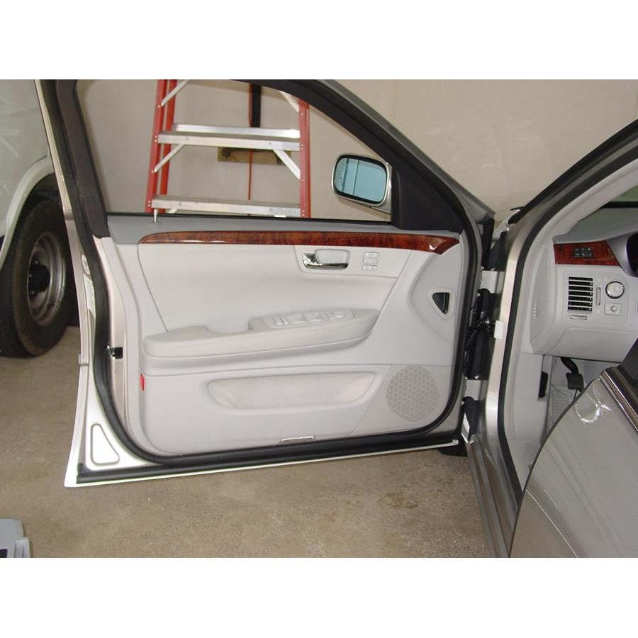 2011 Cadillac DTS Front door speaker location