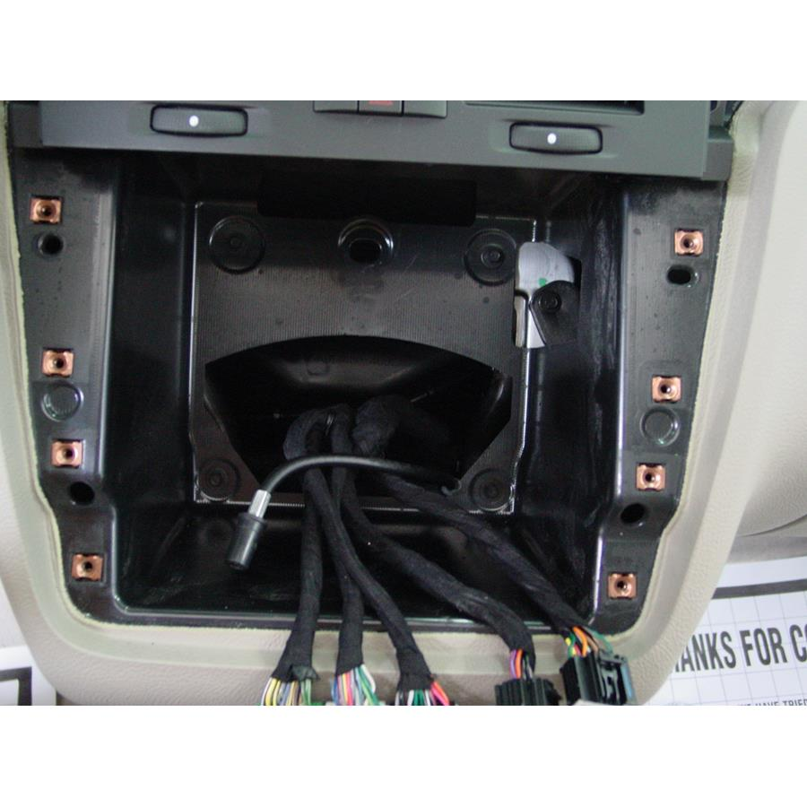 2011 Cadillac DTS Factory radio removed