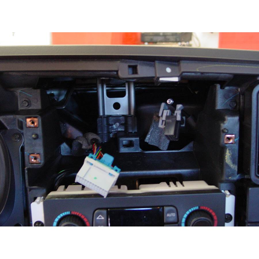 2003 Cadillac Escalade Factory radio removed