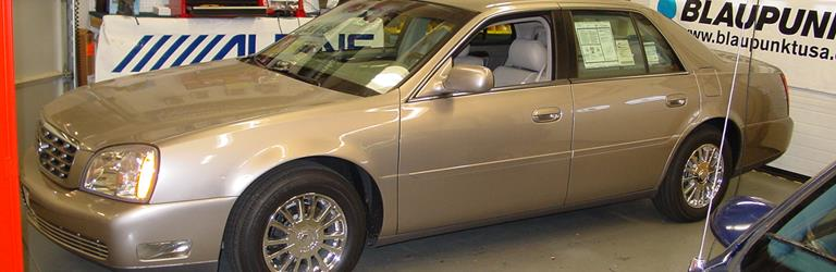 2003 Cadillac DeVille - find speakers, stereos, and dash ... on