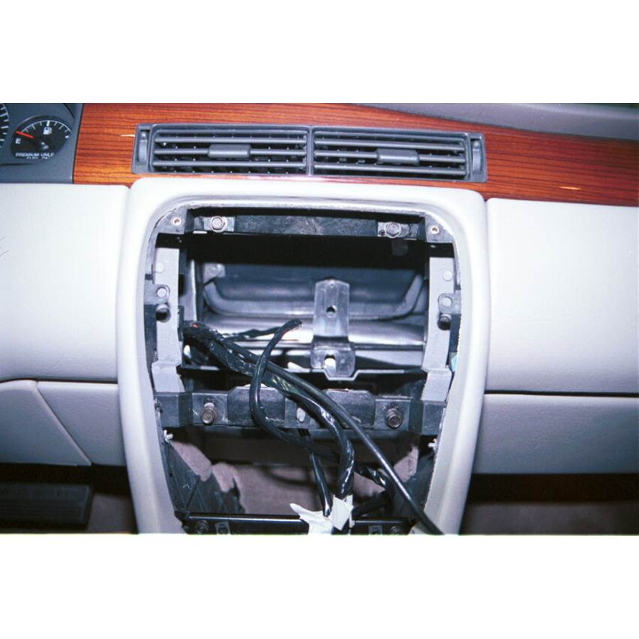 1998 Cadillac Eldorado Factory radio removed