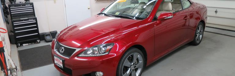 2011 Lexus IS350C Exterior