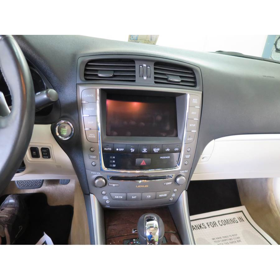 2010 Lexus IS250C Factory Radio
