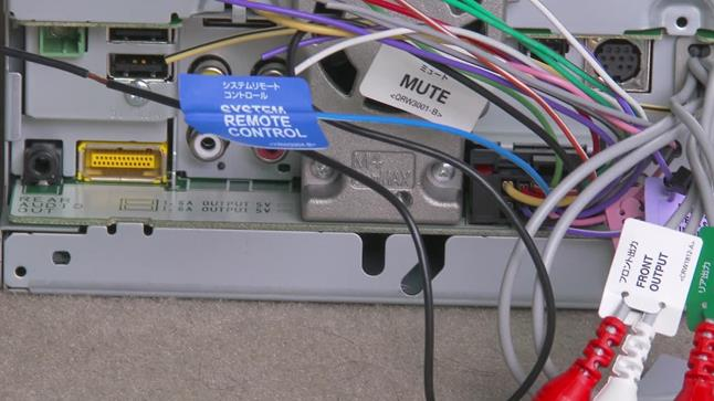 amplifier installation guide locate the remote turn on lead behind your radio usually a blue and white wire and connect the turn on lead from your amplifier wiring kit to it