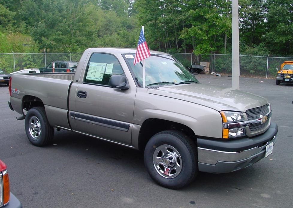 2003 2007 Chevy Silverado And Gmc Sierra Regular Cab Car