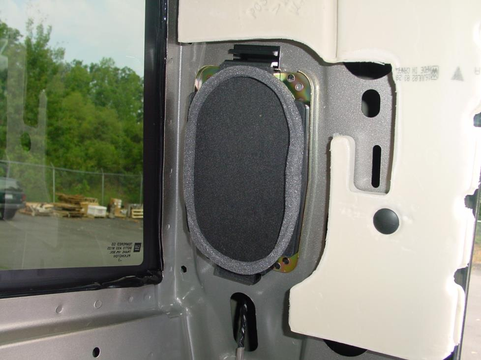 2003 2007 chevy silverado and gmc sierra regular cab car audio profile. Black Bedroom Furniture Sets. Home Design Ideas