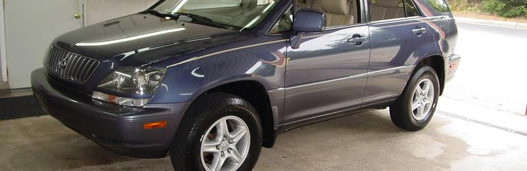 2001 Lexus RX300 - find speakers, stereos, and dash kits