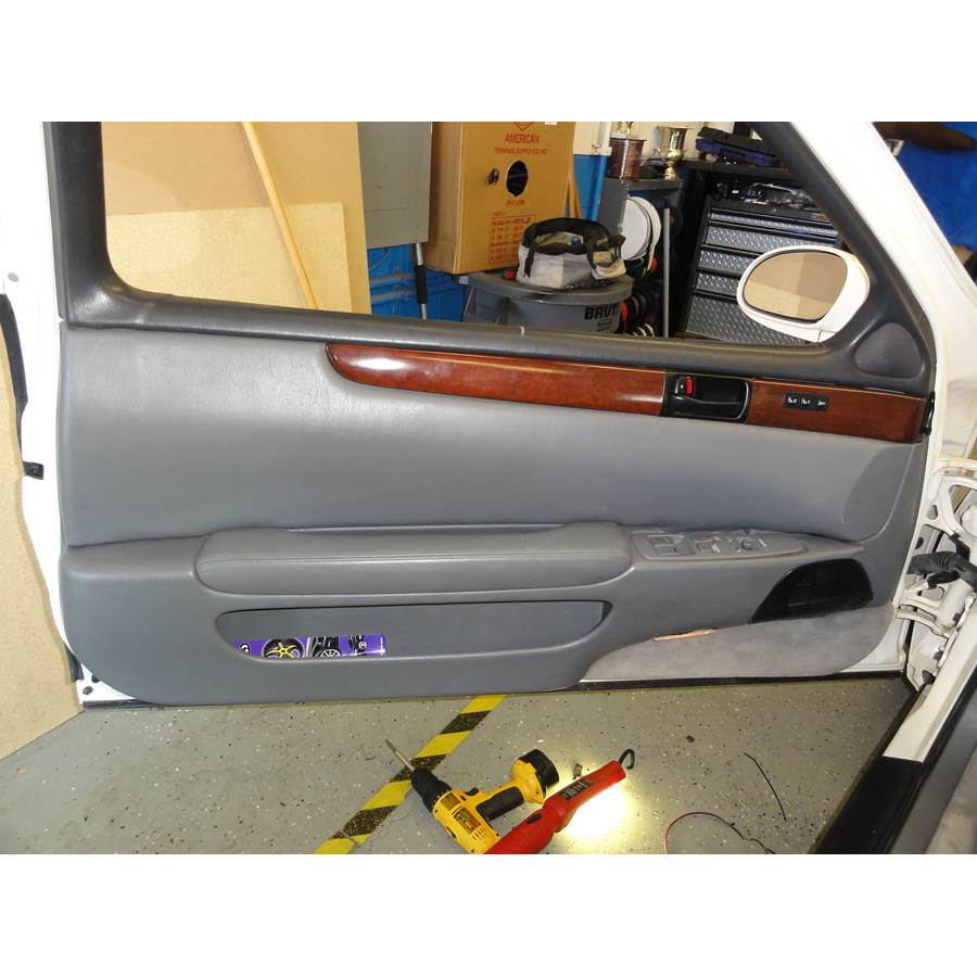 1995 Lexus SC300 Front door speaker location