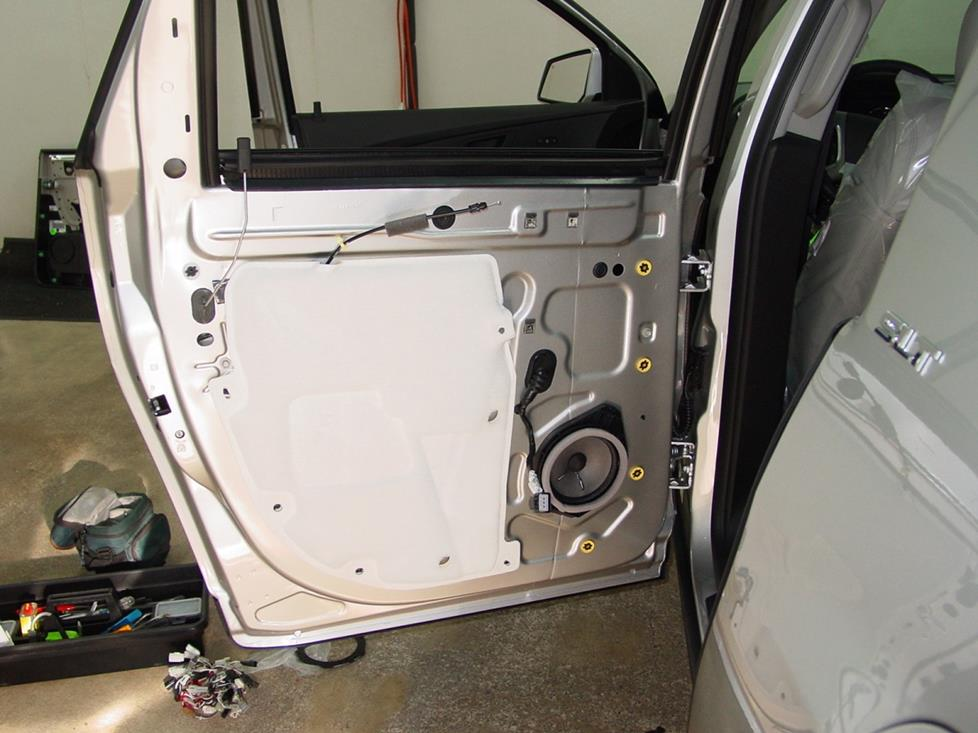 gmc acadia rear door