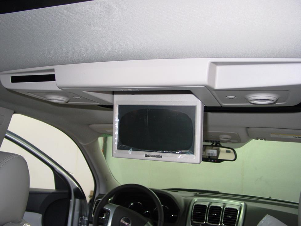 gmc arcadia video monitor dvd