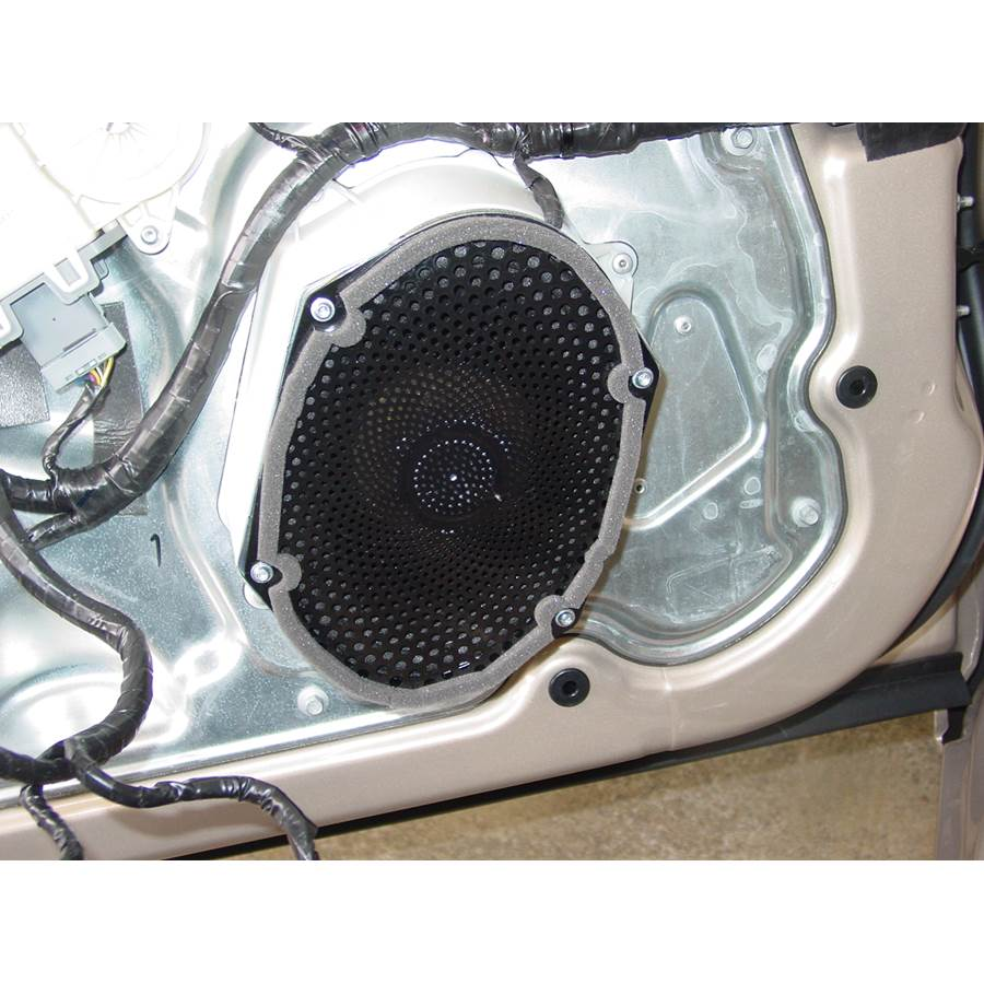 2006 Lincoln Zephyr Front door woofer