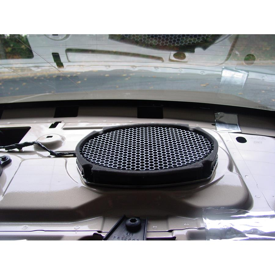 2006 Lincoln Zephyr Rear deck speaker