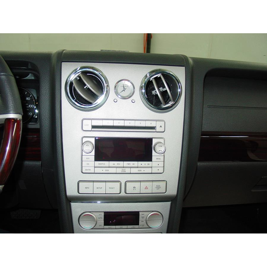 2006 Lincoln Zephyr Factory Radio