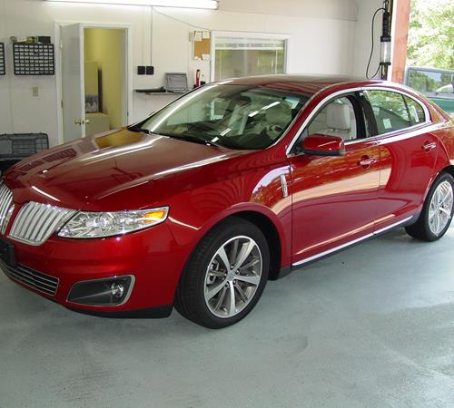 2009 Lincoln MKS Exterior