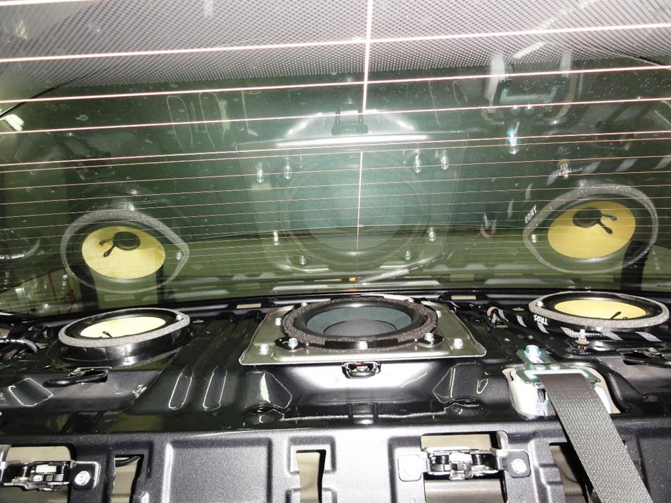 amplifier on 2014 honda accord
