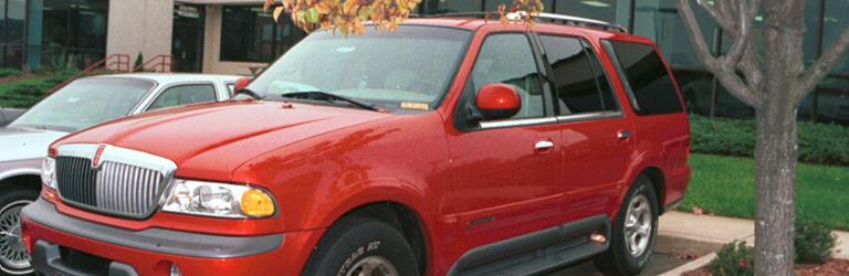 2001 Lincoln Navigator - find speakers, stereos, and dash ... on