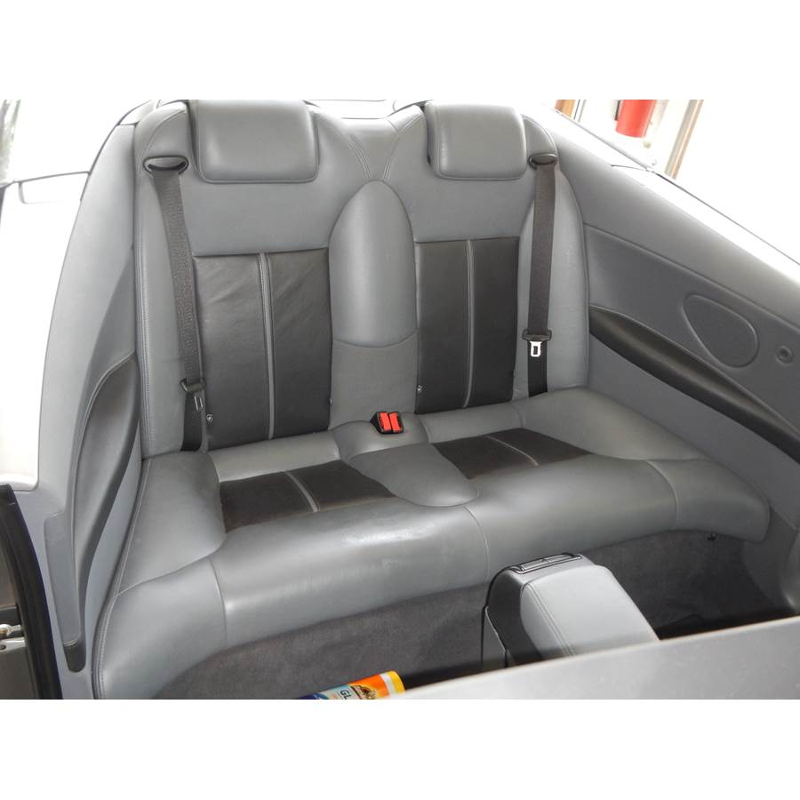 2005 Saab 9-3 Rear cab speaker location
