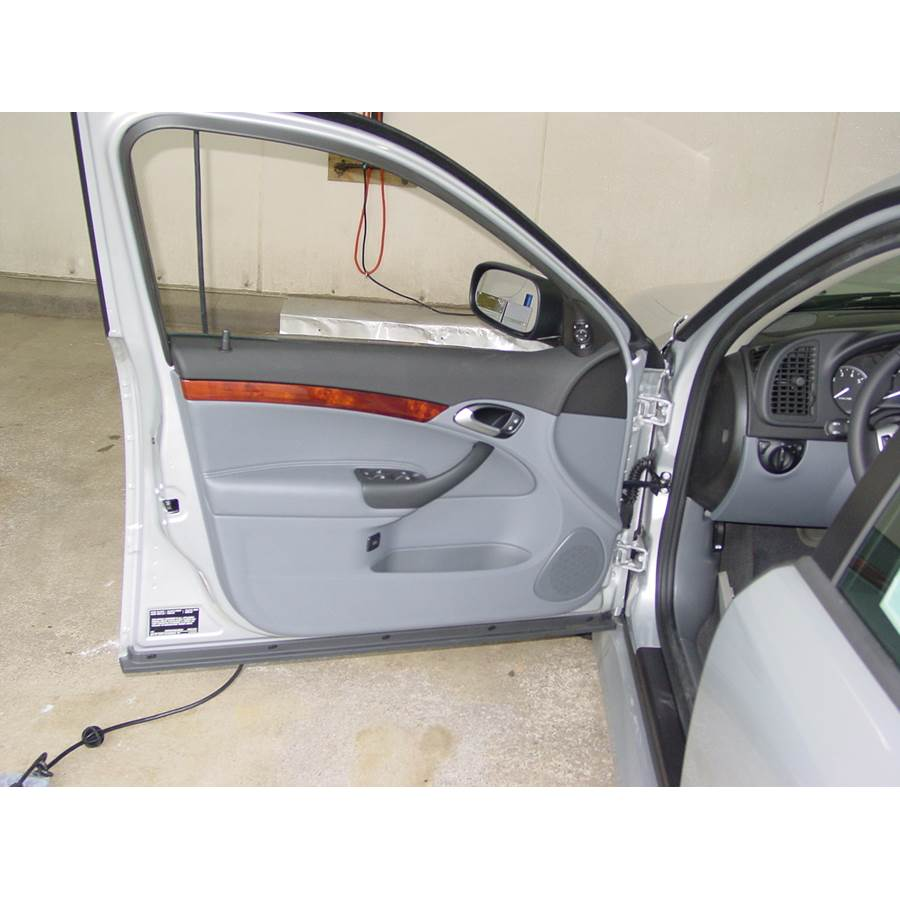 2003 Saab 9-3 Front door speaker location