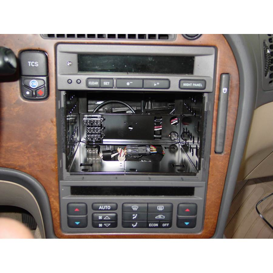 2000 Saab 9-5 Factory radio removed