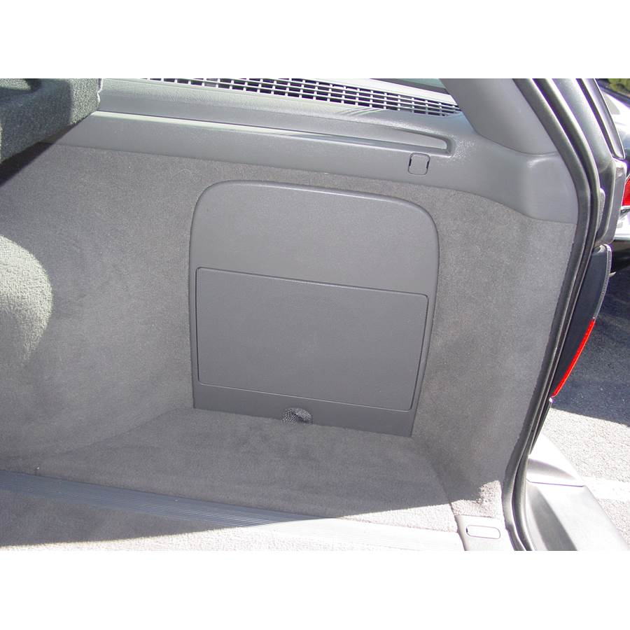 2000 Saab 9-5 Far-rear side speaker location