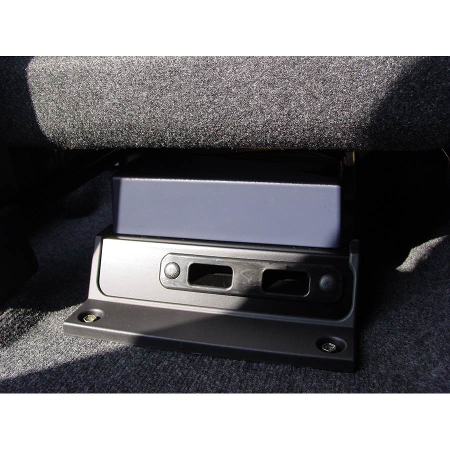 2007 Suzuki Aerio Under front seat speaker location