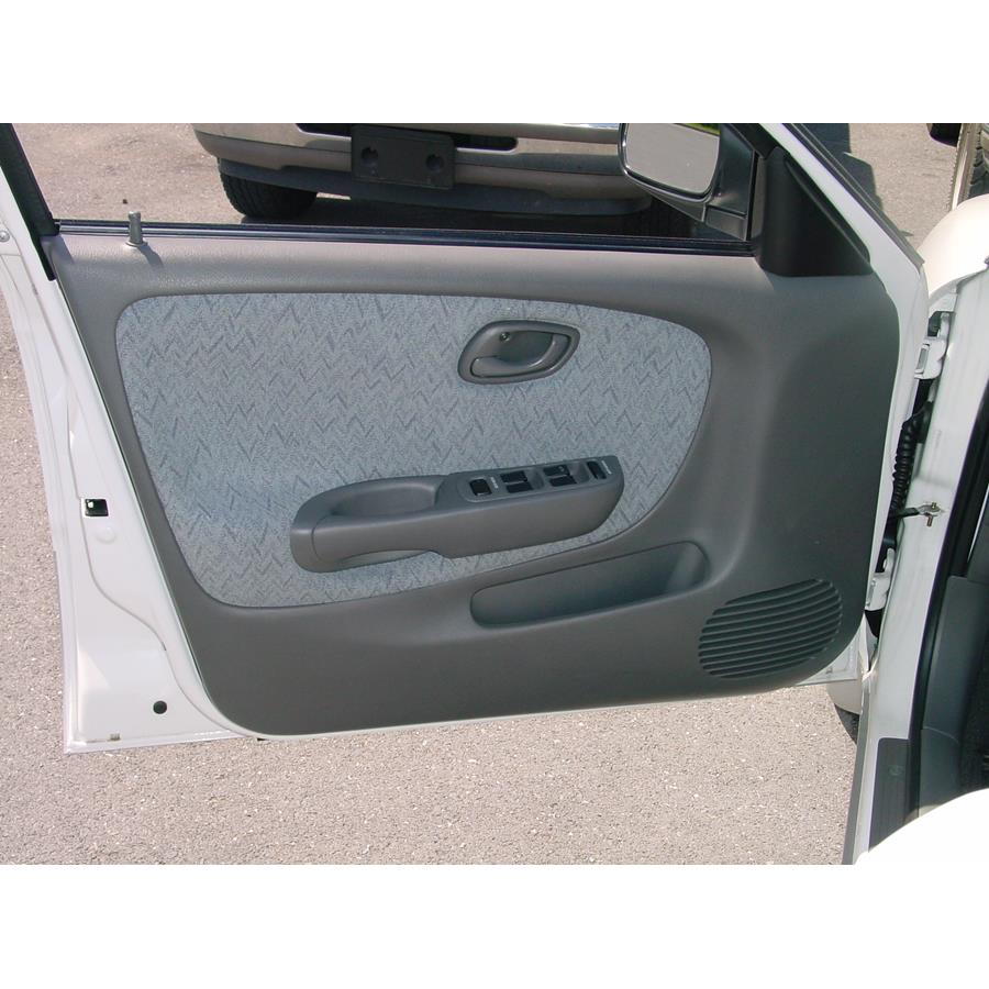 2002 Suzuki Esteem Front door speaker location