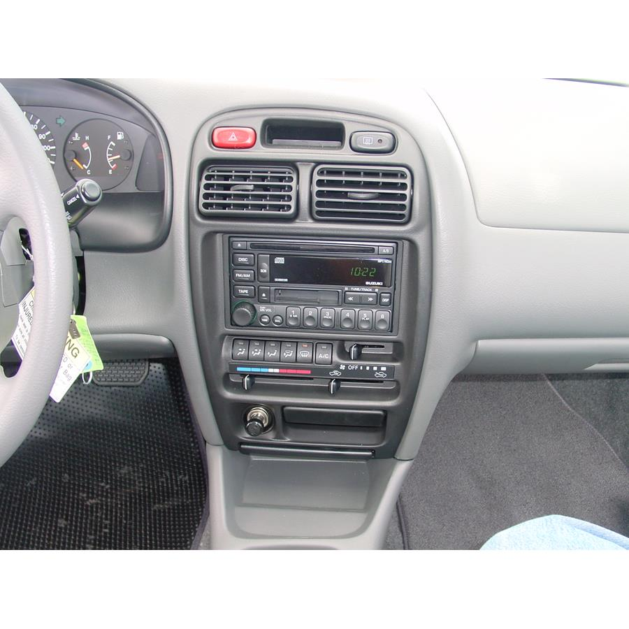 2002 Suzuki Esteem Factory Radio