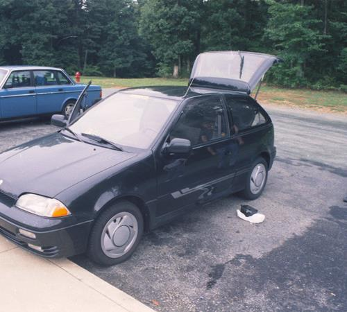 1995 Suzuki Swift Exterior