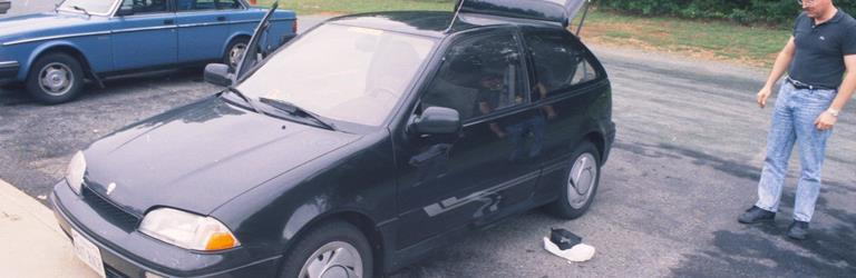 2001 Suzuki Swift Exterior