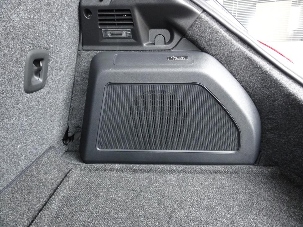 vw beetle subwoofer