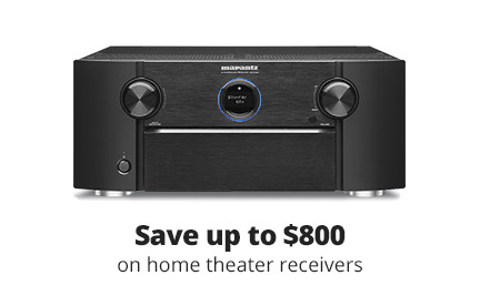 Save up to $800 on home theater receivers