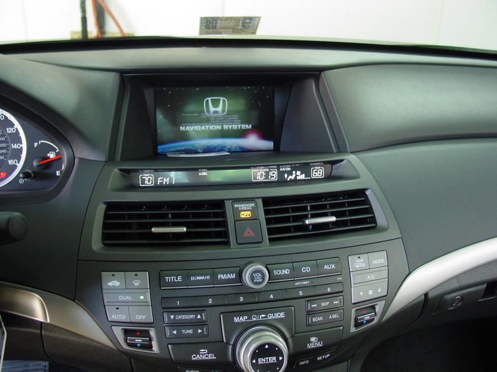 honda accord nav radio