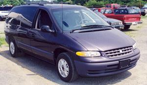 1997 Plymouth Voyager Exterior