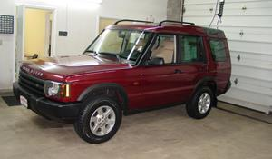 2002 Land Rover Discovery Exterior